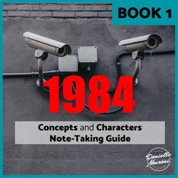 1984 Activity: Concepts & Characters Note-Taking Guide + Evidence Tracker