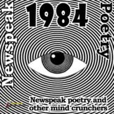 1984 ACTIVITIES: Newspeak poetry and 2 other games