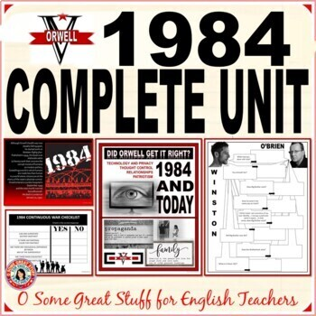1984 NO PREP. UNIT BUNDLE with CREATIVE AND ANALYTICAL ACTIVITIES