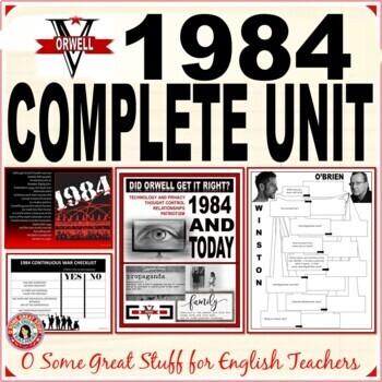 1984 Unit COMPLETE-COMPREHENSIVE-CREATIVE ACTIVITIES Bundled