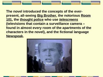 1984 Background Information PowerPoint
