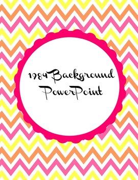 1984 Background PowerPoint
