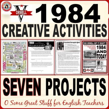 1984 CREATIVE ACTIVITIES BUNDLE 7 DIFFERENTIATED RESOURCES