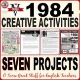 1984 CREATIVE ACTIVITIES BUNDLE--EIGHT DIFFERENTIATED RESOURCES!