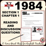 1984 Chapter 1 of Section 1 Questions for Comprehension an