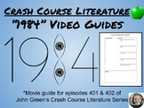 1984 Crash Course Literature Video Guides