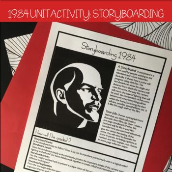 1984 Creative Unit Activity: Storyboarding a Film Clip