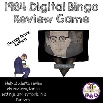 1984 Digital Bingo Review Game (Google Drive Edition)