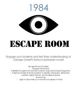 1984 Escape Room
