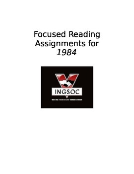 1984: Focused Readings for Common Core Classrooms