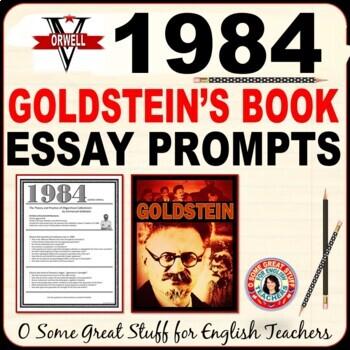 1984 GOLDSTEIN'S BOOK Essay Prompts