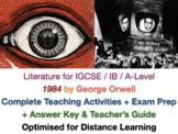1984 - George Orwell - COMPLETE IGCSE TEACH + EXAM PREP BU