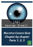 1984 ~ MULTIPLE CHOICE QUIZ