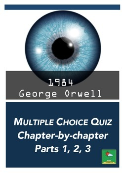 1984 Multiple Choice Quiz By The Language Arts Lab Tpt