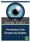 1984 ~ Vocabulary Lists