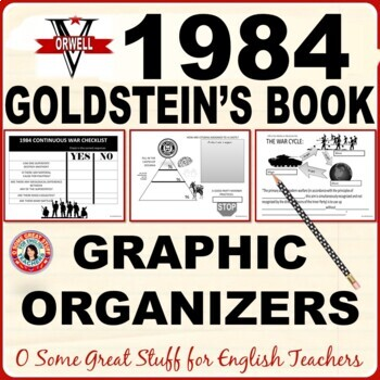 1984 Goldstein's Book/Book 2 Chapter 9 Graphic Organizers-Fun and Effective!