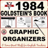 1984 Goldstein's Book Graphic Organizers                      Fun and Effective!