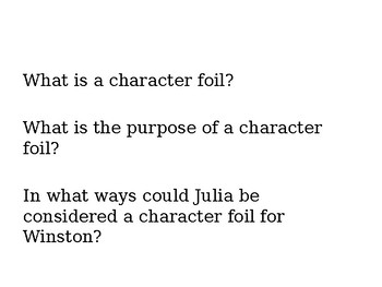 1984  Julia's Role in the Text