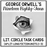 1984 Literature Circle Guide (AP Literature Long Fiction U