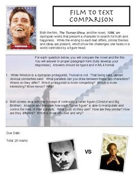 1984 - Movie Comparison To The Truman Show