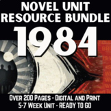 1984 Literature Guide RESOURCE BUNDLE | GOOGLE - DISTANCE