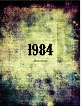 1984 Novel Unit COMMON CORE ALIGNED!!