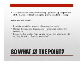 1984 Part II Ch. 9 PowerPoint and Written Assessment