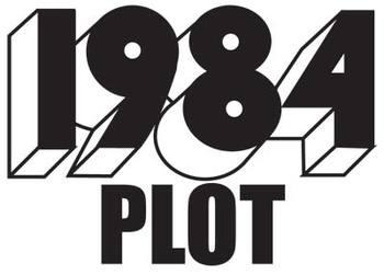 1984 Plot Chart Organizer Diagram Arc (by Orwell) - Freytag's Pyramid