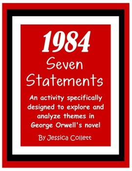 1984 Pre-reading and post-reading theme activity