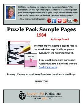 1984 Puzzle Pack Sampler