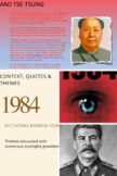 1984 Quotes and Essay Questions