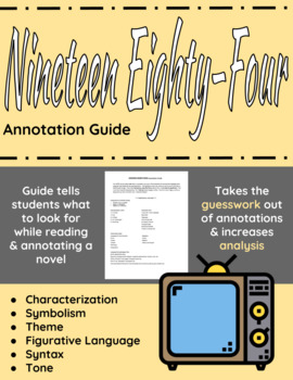1984 Annotation Guide