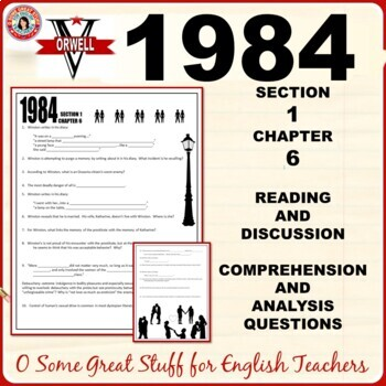 1984 Section 1 Chapter 6 Activities for Comprehension and Analysis with Key