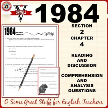 1984 Section 2 Chapter 4 Questions for  Comprehension and Analysis with Key