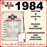 1984 Section 2 Chapter 5 Questions for Comprehension and Analysis with Key