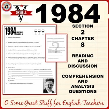 1984 Section 2 Chapter 8 Comprehension and Analysis Questions with Key