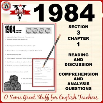 1984 Book 3 Chapter 1 Activities for Comprehension and Analysis with Key