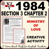 1984 Book 3 Chapter 2 CREATIVE ACTIVITY Room 101 Torture E
