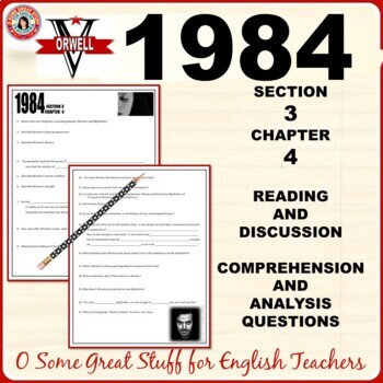 1984 Section 3 Chapter 4 Questions for Comprehension and Analysis with Key