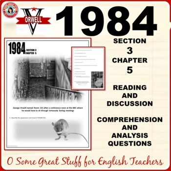 1984 Book 3 Chapter 5 Questions for Comprehension and Analysis with Key