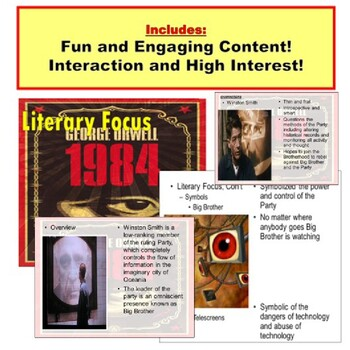 1984, Teaching Lessons PowerPoint