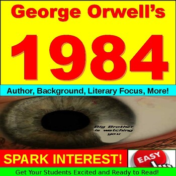 1984 Character Analysis Worksheets & Teaching Resources   TpT