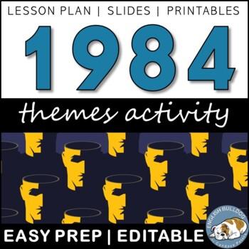 1984 Themes Textual Analysis Activity