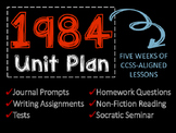 1984 Unit Plan, Five Weeks of Lesson Plans