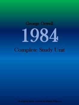 1984 by George Orwell Study Unit