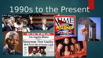 1990s-2008 US History Powerpoint