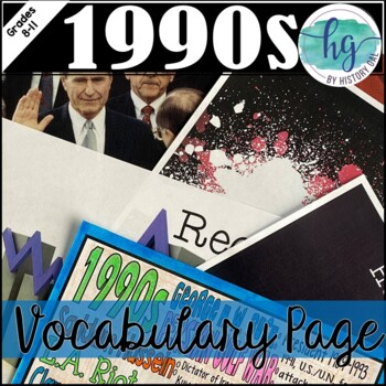 1990s Coloring Page and PowerPoint