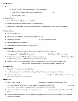 1990s to 2008 Guided Notes