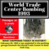 1993 World Trade Center Bombing  Differentiated Reading Passage Feb 26