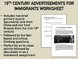 19th Century Advertisements for Immigrants - US History/APUSH
